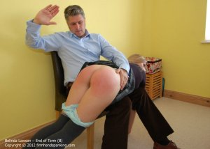 Firm Hand Spanking - End Of Term - B - image 15