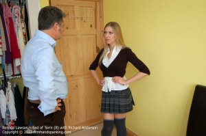 Firm Hand Spanking - End Of Term - B - image 12