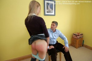 Firm Hand Spanking - End Of Term - B - image 13