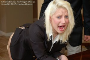 Firm Hand Spanking - Principal's Office - J - image 4