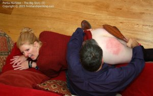 Firm Hand Spanking - The Big Show - E - image 1