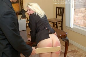 Firm Hand Spanking - Principal's Office - J - image 15