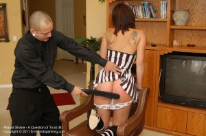 Firm Hand Spanking - A Question Of Trust - B - image 1