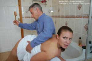 Firm Hand Spanking - Au Pair Trouble - G - image 3