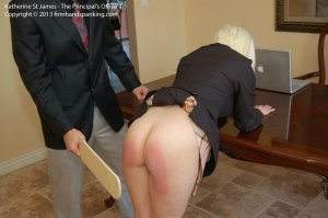 Firm Hand Spanking - Principal's Office - J - image 8