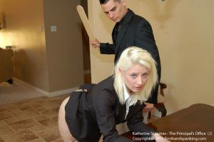 Firm Hand Spanking - Principal's Office - J - image 11