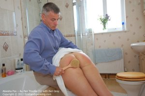 Firm Hand Spanking - Au Pair Trouble - G - image 11