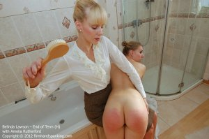 Firm Hand Spanking - End Of Term - H - image 18