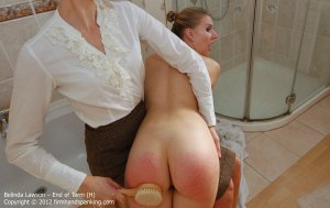 Firm Hand Spanking - End Of Term - H - image 16
