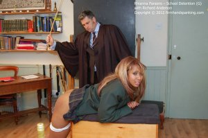 Firm Hand Spanking - School Detention - G - image 1