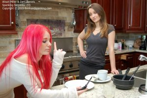 Firm Hand Spanking - Spanking Stepsister - D - image 1