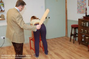 Firm Hand Spanking - Principals Office - B - image 6