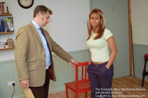 Firm Hand Spanking - Principals Office - B - image 3