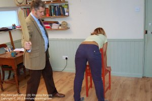 Firm Hand Spanking - Principals Office - B - image 7
