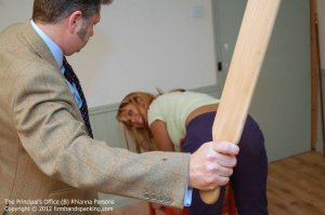 Firm Hand Spanking - Principals Office - B - image 10