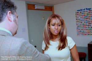 Firm Hand Spanking - Principals Office - B - image 8
