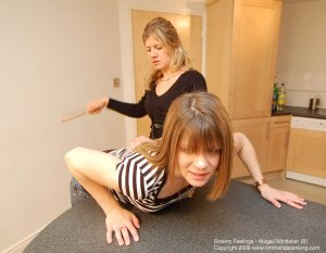 Firm Hand Spanking - Sisterly Feelings - B - image 7