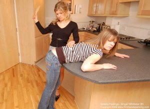 Firm Hand Spanking - Sisterly Feelings - B - image 10