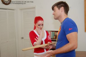 Firm Hand Spanking - Costume Correction - E - image 13