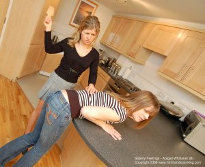 Firm Hand Spanking - Sisterly Feelings - B - image 1