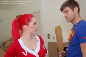 Firm Hand Spanking - Costume Correction - E - image 18