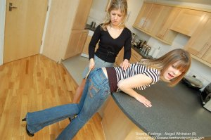 Firm Hand Spanking - Sisterly Feelings - B - image 15