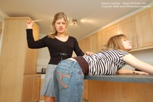 Firm Hand Spanking - Sisterly Feelings - B - image 16