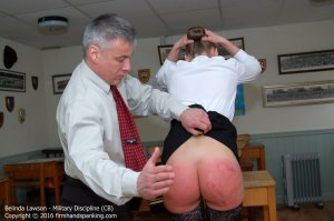 Firm Hand Spanking - Military Discipline - Cb - image 7