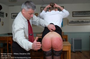 Firm Hand Spanking - Military Discipline - Cb - image 4