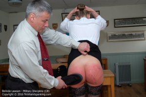 Firm Hand Spanking - Military Discipline - Cb - image 16