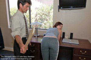 Firm Hand Spanking - Principal's Office - T - image 2