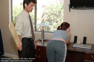 Firm Hand Spanking - Principal's Office - T - image 1