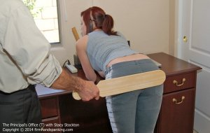 Firm Hand Spanking - Principal's Office - T - image 16