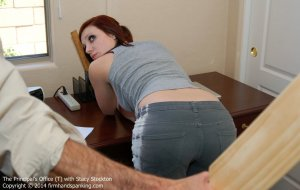 Firm Hand Spanking - Principal's Office - T - image 13