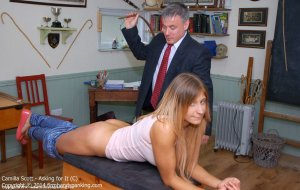 Firm Hand Spanking - Asking For It - C - image 1