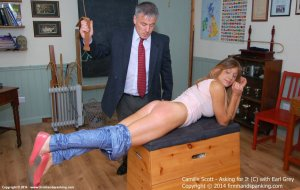Firm Hand Spanking - Asking For It - C - image 11