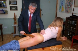 Firm Hand Spanking - Asking For It - C - image 14