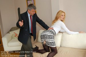 Firm Hand Spanking - Getting To The Bottom Of It - C - image 5