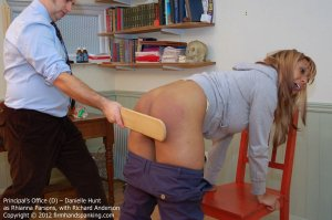 Firm Hand Spanking - The Principal's Office - D - image 4