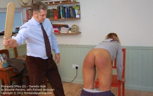 Firm Hand Spanking - The Principal's Office - D - image 2