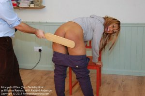 Firm Hand Spanking - The Principal's Office - D - image 14