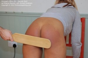 Firm Hand Spanking - The Principal's Office - D - image 7