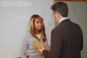 Firm Hand Spanking - The Principal's Office - D - image 5