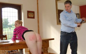 Firm Hand Spanking - The Big Story - B - image 1