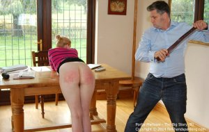 Firm Hand Spanking - The Big Story - B - image 7