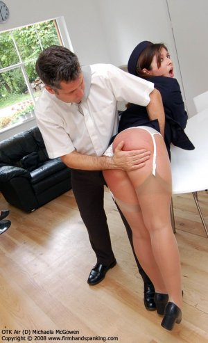 Firm Hand Spanking - 30.01.2008 - Bare Bottom Hand Spanking - image 3