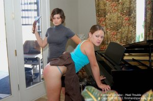 Firm Hand Spanking - Maid Trouble - B - image 18
