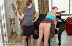 Firm Hand Spanking - Maid Trouble - B - image 12