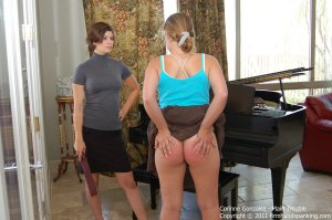 Firm Hand Spanking - Maid Trouble - B - image 15