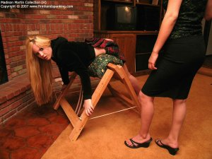Firm Hand Spanking - 30.03.2007 - Bare Bottom Caning - image 17